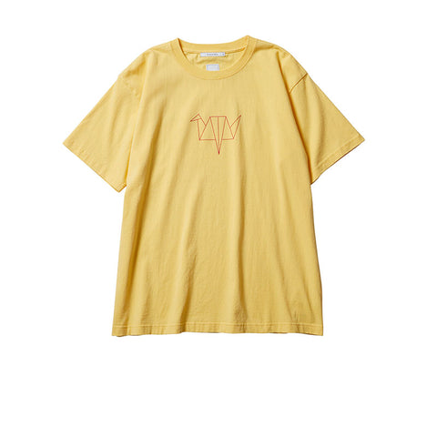 LIBERAIDERS ORIGAMI TEE YELLOW 746042003