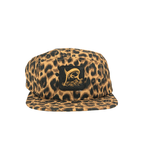 NEW ERA X SG CAMPER NON FISHERMAN 5 PANEL CAP LEOPARD 12147056