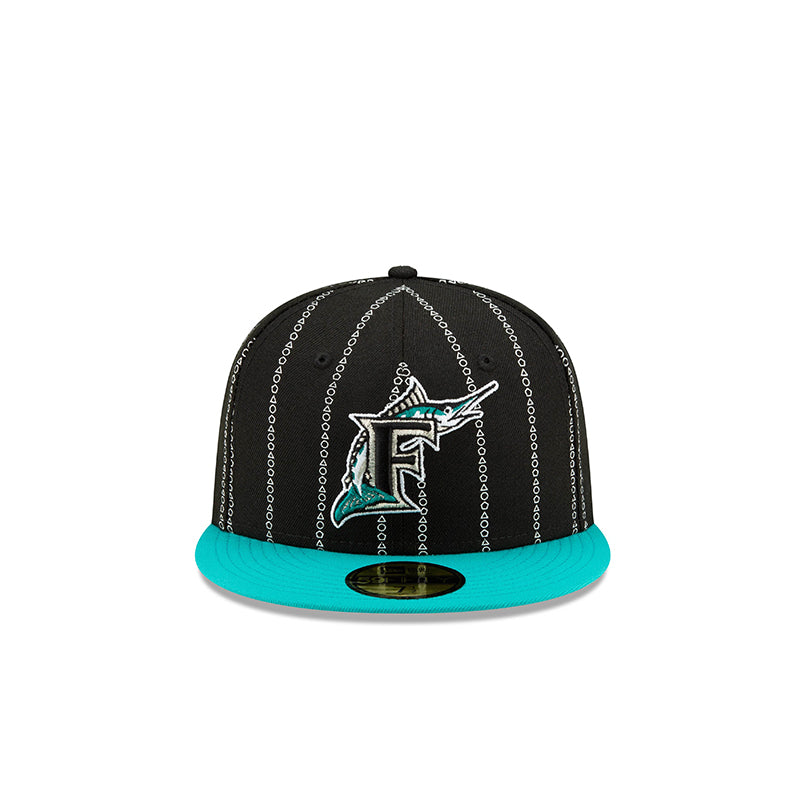 "NEW ERA X SHOEGALLERY FLORIDA MARLINS ""County Lines"" 5950 BLACK  12134361"