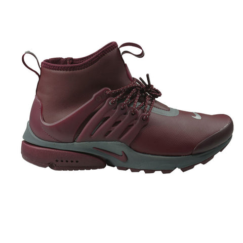 NIKE WOMENS AIR PRESTO MID UTILITY NIGHT MAROON 859527-600