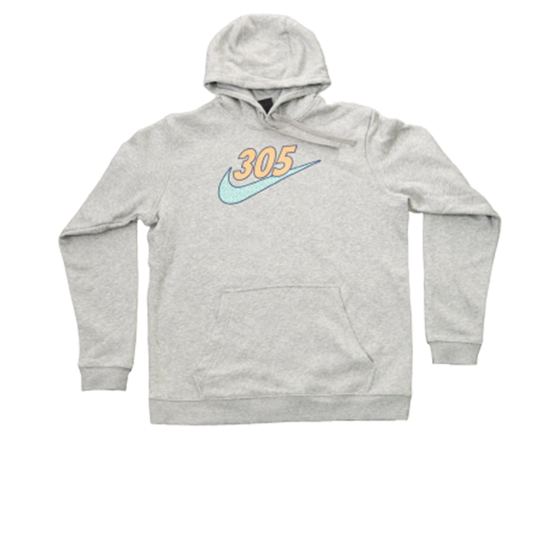 NIKE CLUB FLEECE PO HOODY DKKEATHER M31777-DKHEA