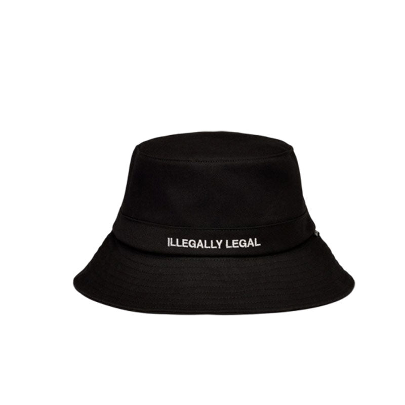 NOTHIN' SPECIAL BUCKET HAT BLACK NSSP20-H1