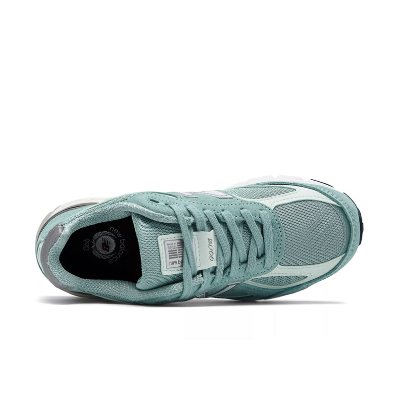 New Balance Made in USA Mineral Sage/Seafoam 990V4 M990MS4