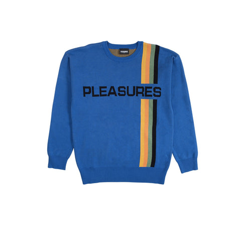 PLEASURE GOOD TIME SWEATER - ROYAL BLUE P18W109009