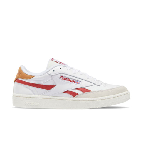 REEBOK CLUB C REVENGE White - Mars Red - Chalk FY9418