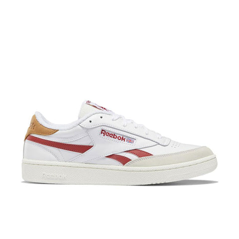 REEBOK CLUB C REVENGE White - Mars Red - Chalk HO4170