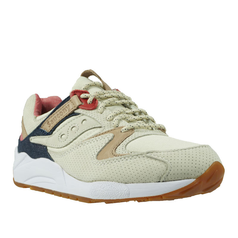 "SAUCONY GRID 9000 ""LIBERTY PACK"" Light Tan S70312-1"