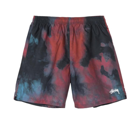 STUSSY DARK DYE WATER SHORT BLACK 113118
