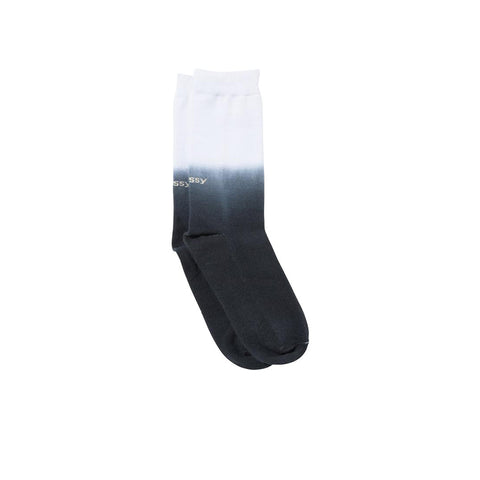 STUSSY DIP DYE EVERYDAY SOCKS BLACK 138677