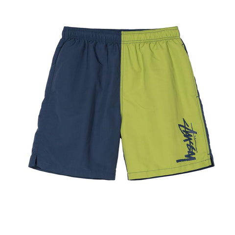 STUSSY PANEL WATER SHORT NAVY 113121