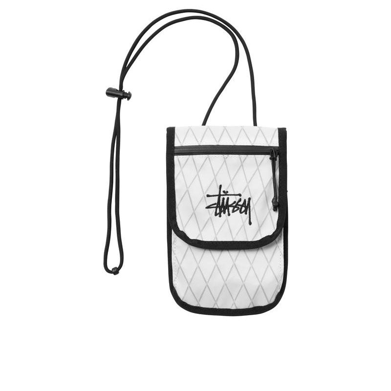 STUSSY TRAVEL POUCH WHITE 134240