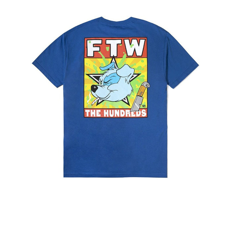THE HUNDREDS FTW T-SHIRT ROYAL BLUE