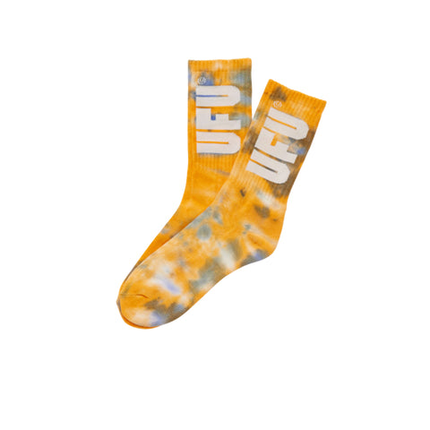 UFU TIE DYE SOCKS_YELLOW P00000ZZ