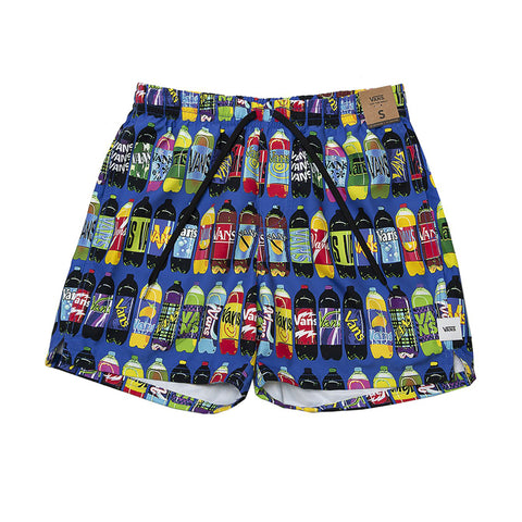 VANS VAULT X FERGADELIC VOLLEY SHORT ALL OVER CORNER STORE PRINT VN0A4RRHW03
