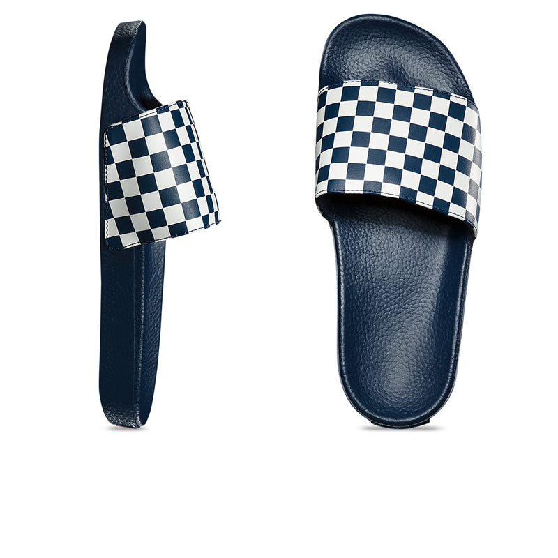 Vans Checkerboard Slide-On True Blue VN0004KIFBV