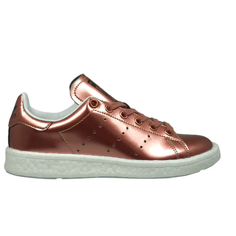 WOMEN'S ADIDAS STAN SMITH BOOST Metallic Copper/Ftw White BB0107