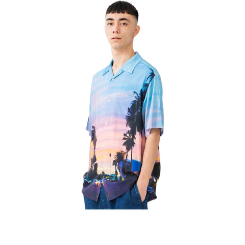 XLARGE OIL PAINTING S-S BUTTON UP 101202014005