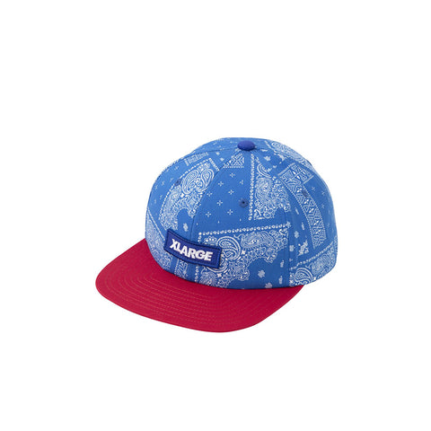 XLARGE PAISLEY 6 PANEL CAP BLUE 011940046009