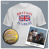 Britain Is Great 'Bomber' T-Shirt