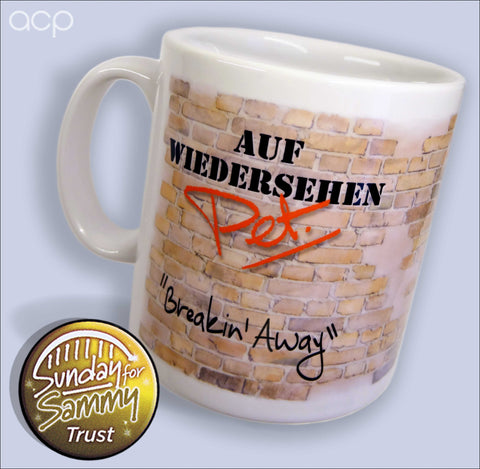 Breakin' Away Brickies Mug & Coaster Set