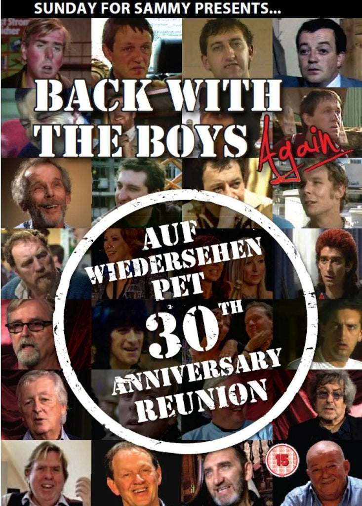 Back With The Boys Again - Auf Wiedersehen Pet 30th Anniversary Reunion DVD