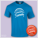 Sammy Logo Tee Blue