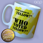 The Winner Is.....      Yellow!
