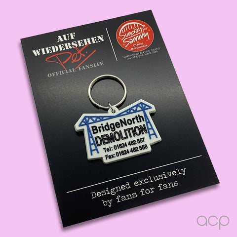 Middlesbrough Transporter Bridge Keyring Auf Pet