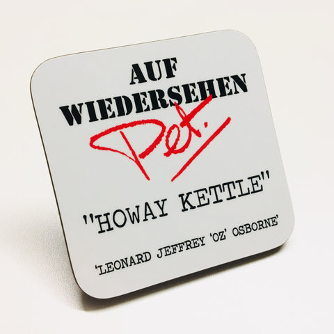 Howay Kettle Coaster White