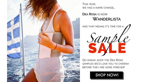 Dea Rosa now Wanderlista. Shop Dea Rosa Sample Sale