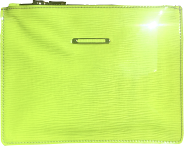 LIVAS Mini Neon Yellow Leather