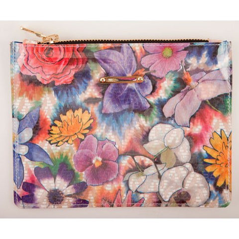 LIVAS Mini<br>Floral Printed Leather