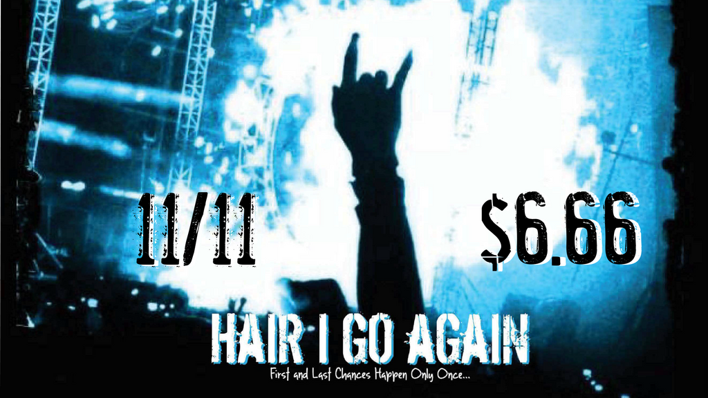Hair I Go Again International Metal Day Screening and Q&A