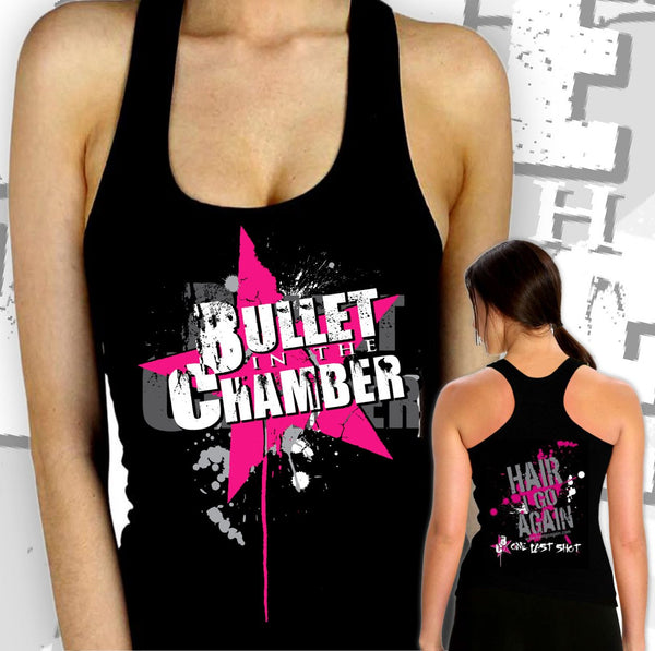 Hair I Go Again | Bullet Grrrls <br> Rock Tank or Tee Bundle