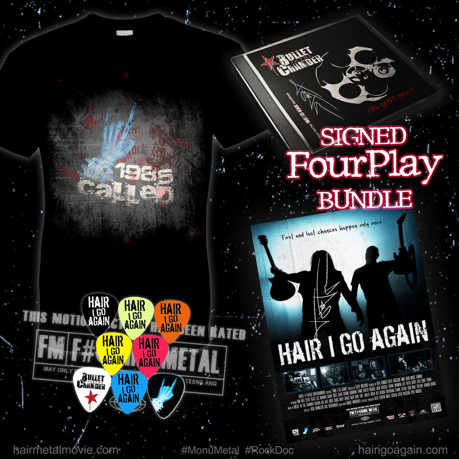 Hair I Go Again | #FourPlay Bundle