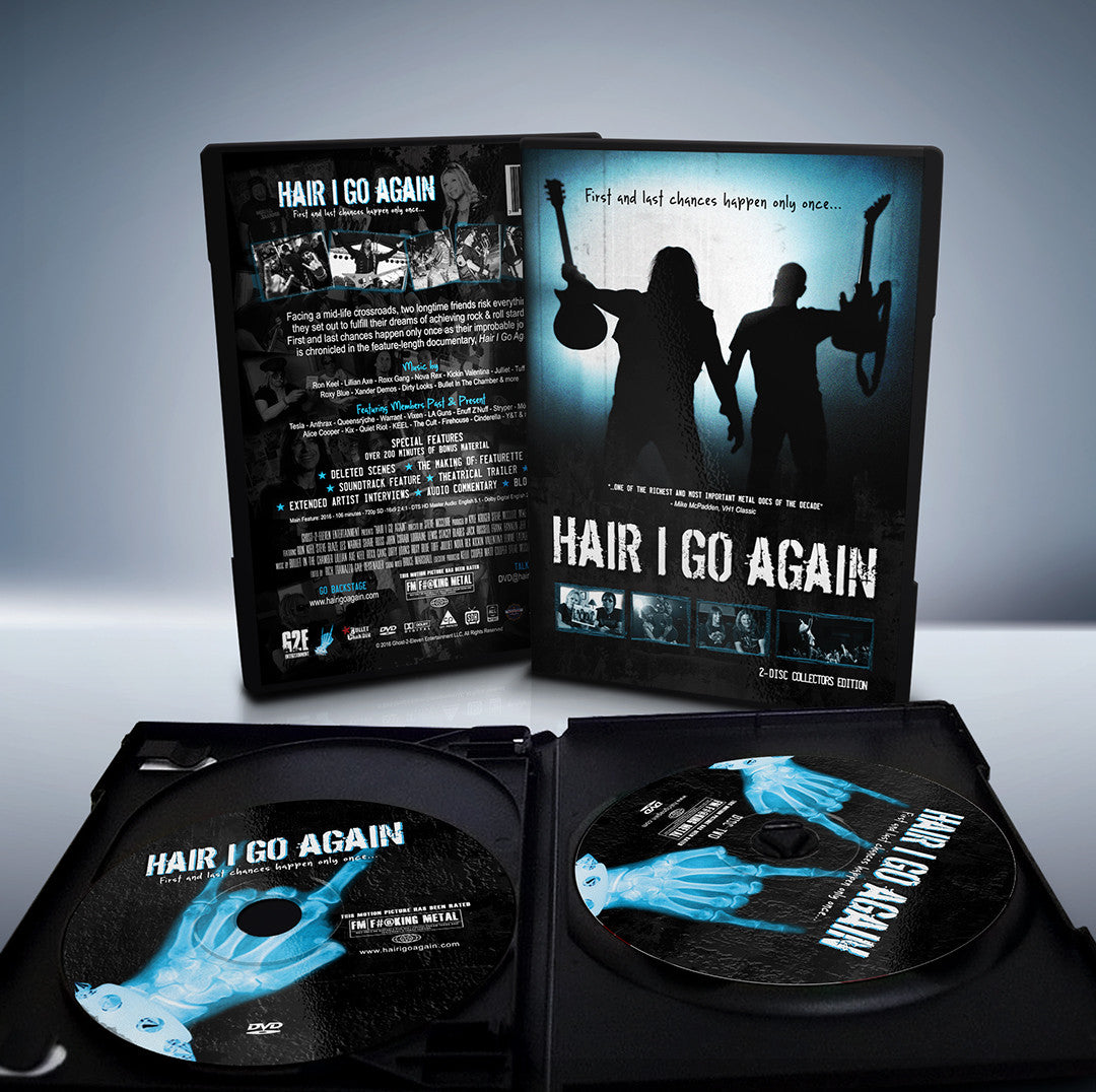 Hair I Go Again DVD 2-Disc Collector's Edition