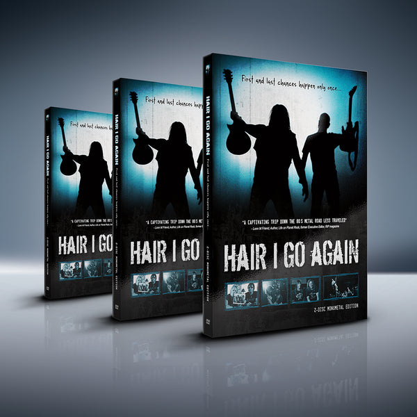 Buy 3 Get 1 Free - Hair I Go Again 2-Disc DVD + FREE Digital Download Cards