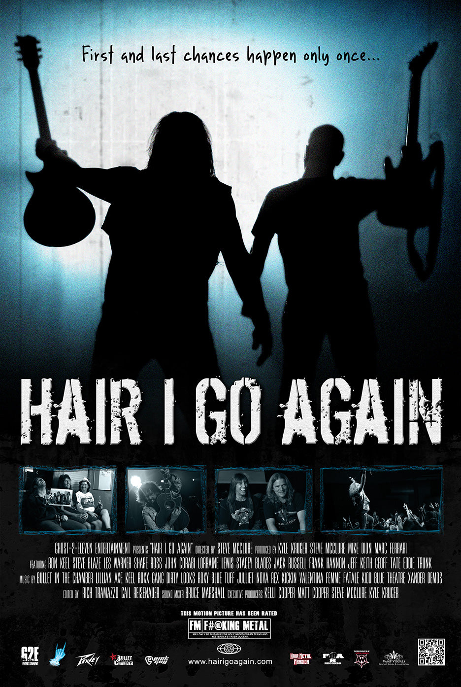 Hair I Go Again | Double Feature Movie Poster Bundle