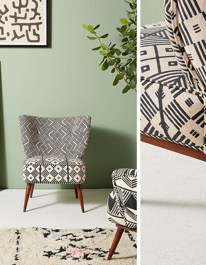 Geometric Home Decor - Pattern Round Up on Savannah Hayes