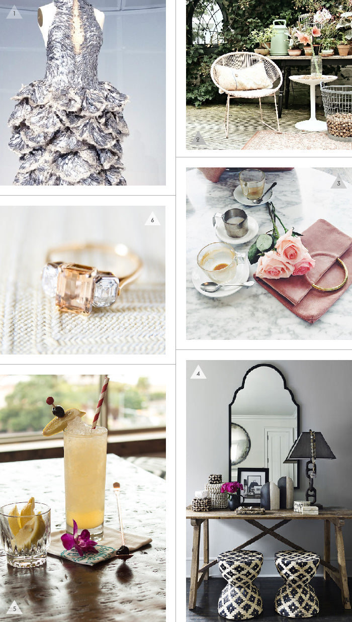 Savannah Hayes Friday Finds / Outdoor Spaces & the Perfect Suede Clutch