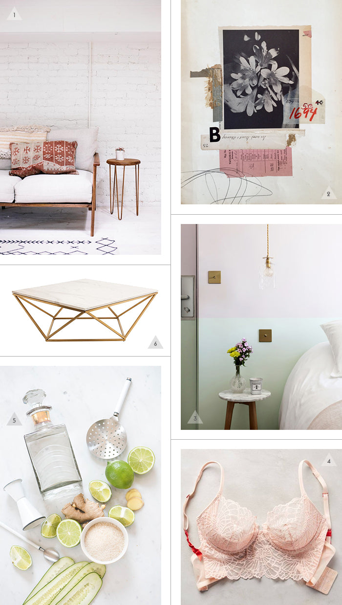 Savannah Hayes Friday Finds / White Walls & Lee McKenna