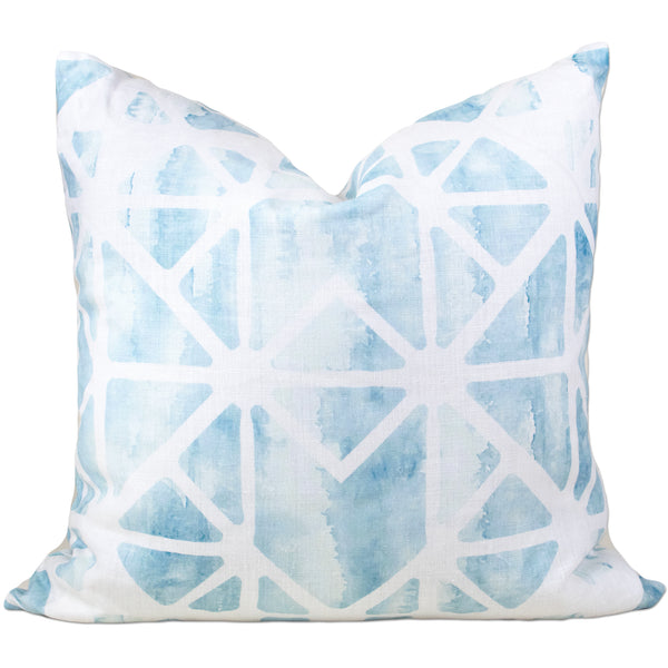 Savannah Hayes Porto Throw Pillow - Modern, Geometric Home Decor for the Living Room and Bedroom