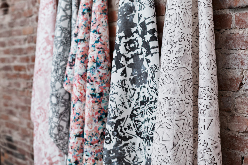 Savannah Hayes Taza Fabric by the Yard - Modern Home Textiles for Windows and Upholstery