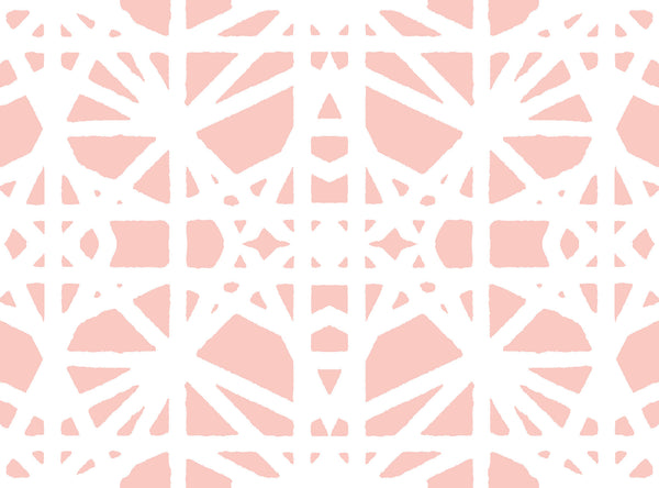 Taza Fabric - Blush