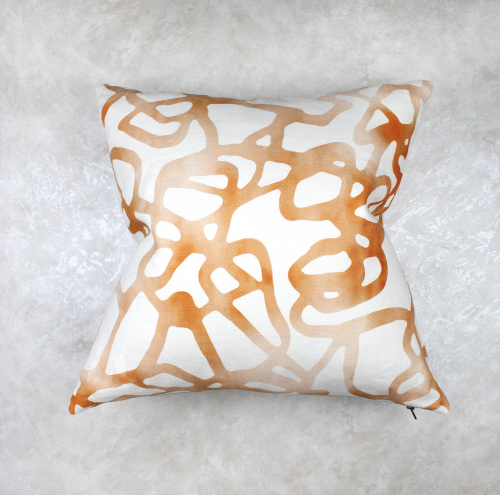 Pompeii Pillow - Ochre