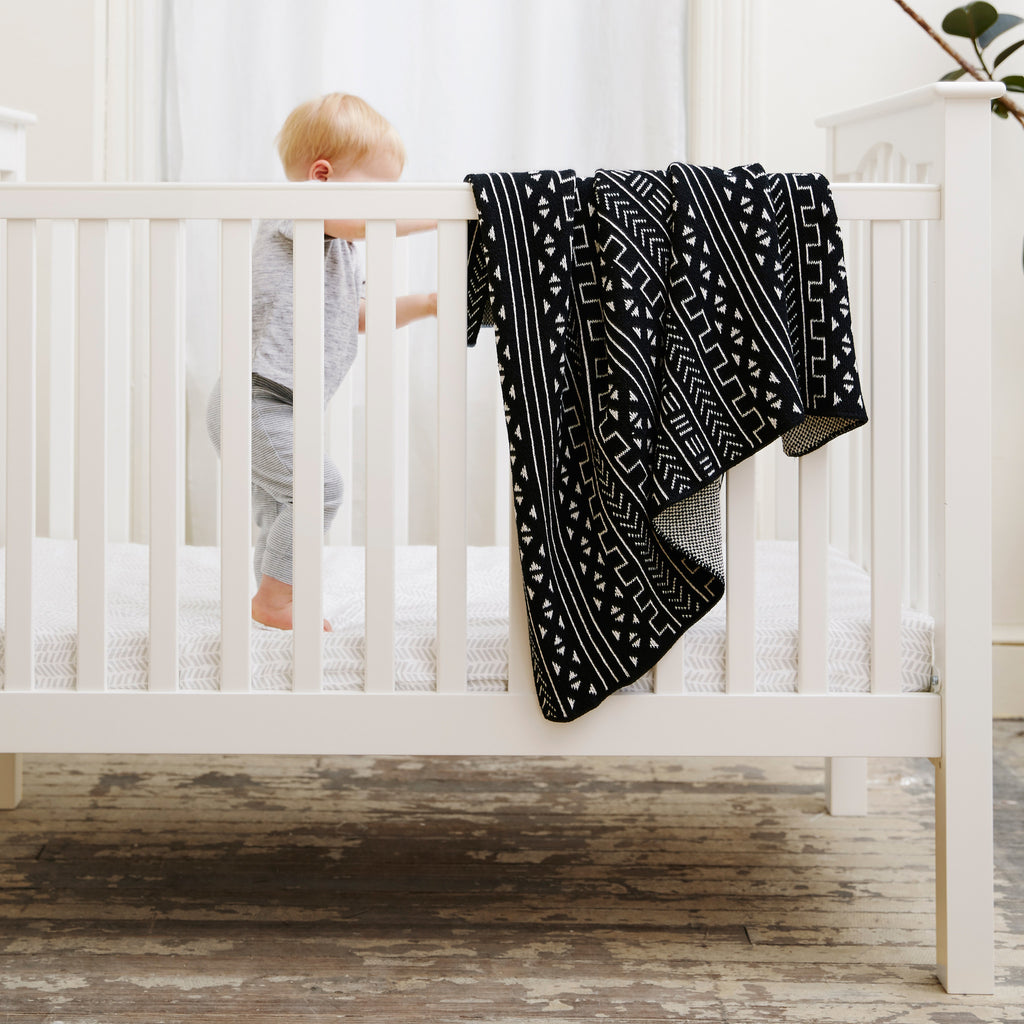 Savannah Hayes Mali Baby Blanket - The Perfect Baby Shower Present for the Modern Nursery