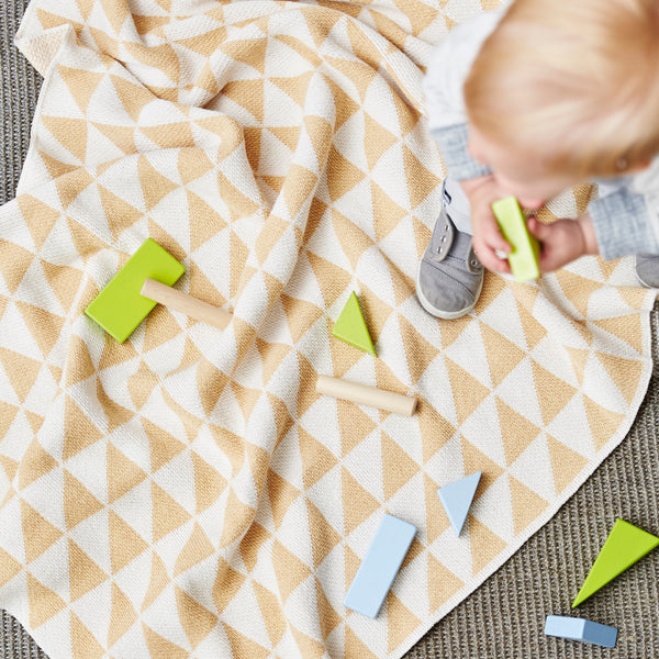 Mansfield Baby Blanket - Maize