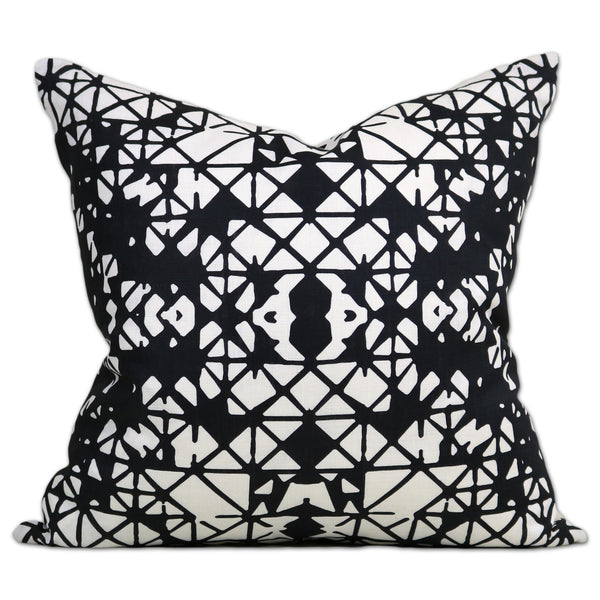 Savannah Hayes Bodrum Throw Pillow - Modern, Geometric Home Decor for the Living Room and Bedroom