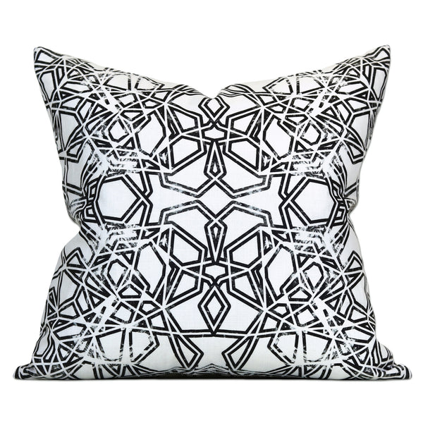 Savannah Hayes Bucharest Throw Pillow - Modern, Geometric Home Decor for the Living Room and Bedroom
