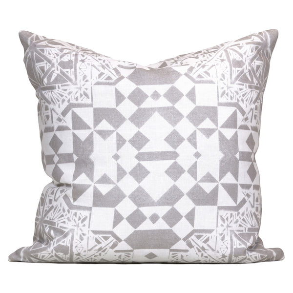 Savannah Hayes Dubrovnik Throw Pillow - Modern, Geometric Home Decor for the Living Room and Bedroom
